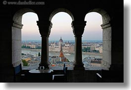 arches, budapest, buildings, domes, europe, horizontal, hungary, parliament, structures, views, photograph