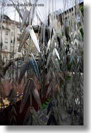 budapest, buildings, europe, hungary, jewish, life, religious, steel, synagogue, trees, vertical, photograph