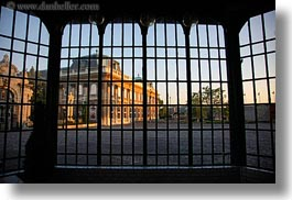 budapest, buildings, europe, gates, horizontal, hungary, museums, photograph