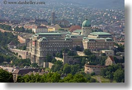 budapest, buildings, castle hill, castles, cityscapes, europe, hills, horizontal, hungary, structures, photograph
