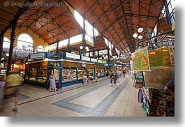 budapest, central market hall, europe, halls, horizontal, hungary, market, slow exposure, photograph