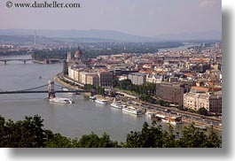 budapest, buildings, cityscapes, danube, europe, horizontal, hungary, rivers, structures, photograph