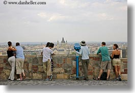 budapest, cityscapes, conceptual, couples, emotions, europe, horizontal, humor, hungary, men, overlooking, people, romantic, womens, photograph