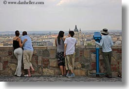budapest, cityscapes, conceptual, couples, emotions, europe, horizontal, hungary, men, overlooking, people, romantic, womens, photograph