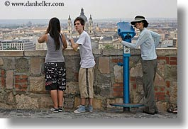 budapest, cityscapes, couples, emotions, europe, horizontal, humor, hungary, men, overlooking, people, romantic, womens, photograph