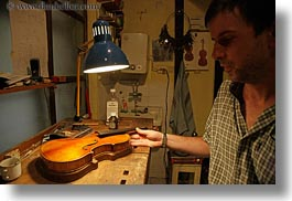 artists, budapest, europe, horizontal, hungary, instruments, men, music, musicians, people, technician, violins, photograph