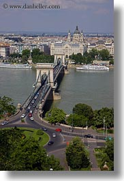 bridge, budapest, cityscapes, europe, hungary, structures, szechenyi chain bridge, vertical, photograph