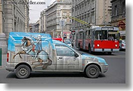 arts, budapest, cars, europe, horizontal, horses, hungary, knights, paintings, transportation, photograph