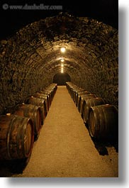barrels, cellar, europe, grof degenfeld castle hotel, hungary, vertical, wines, photograph
