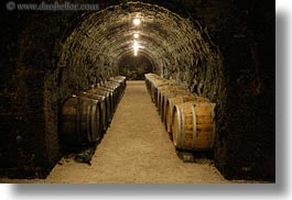 barrels, cellar, europe, grof degenfeld castle hotel, horizontal, hungary, wines, photograph