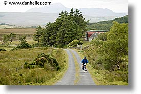 bikers, biking, connaught, connemara, europe, horizontal, ireland, irish, mayo county, uphill, western ireland, photograph