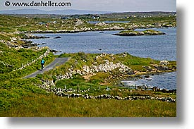 bicycles, bikers, connaught, connemara, europe, horizontal, ireland, irish, jills, mayo county, western ireland, photograph