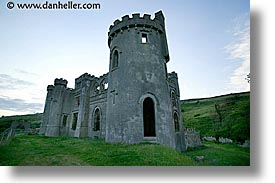castles, clifden, connaught, connemara, europe, horizontal, ireland, irish, mayo county, western ireland, photograph