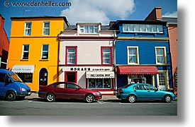 buildings, clifden, colored, connaught, connemara, europe, horizontal, ireland, irish, mayo county, western ireland, photograph