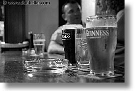 black and white, clifden, connaught, connemara, europe, guiness, horizontal, ireland, irish, mayo county, western ireland, photograph