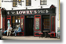 clifden, connaught, connemara, europe, horizontal, ireland, irish, lowrys, mayo county, pub, western ireland, photograph