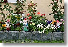 connaught, connemara, europe, galway, gardens, gnomes, horizontal, ireland, irish, mayo county, western ireland, photograph