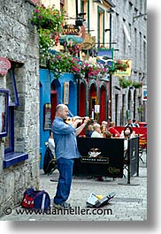 connaught, connemara, europe, galway, ireland, irish, mayo county, players, vertical, violins, western ireland, photograph