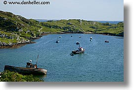 bay, connaught, connemara, europe, horizontal, inishbofin, ireland, irish, mayo county, views, western ireland, photograph