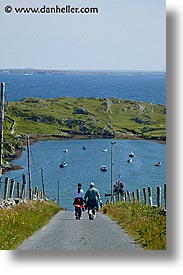 connaught, connemara, couples, europe, hiking, inishbofin, ireland, irish, mayo county, vertical, western ireland, photograph