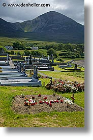 connaught, connemara, croagh, europe, graves, ireland, irish, mayo, mayo county, mountains, patricks, vertical, western ireland, photograph