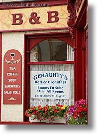 bed and breakfast, connaught, connemara, europe, geraghtys, ireland, irish, mayo county, vertical, western ireland, photograph