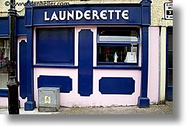 connaught, connemara, europe, horizontal, ireland, irish, launderette, mayo county, virgin, western ireland, photograph