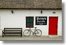 bars, bicycles, connaught, connemara, europe, horizontal, ireland, irish, mayo county, paddys, western ireland, photograph