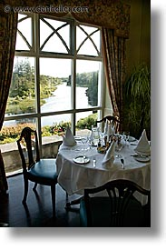 ballinahinch, connaught, connemara, dining, europe, ireland, irish, mayo county, vertical, western ireland, photograph