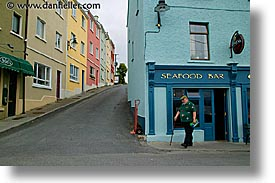 connaught, connemara, europe, horizontal, ireland, irish, mayo county, roundstone, villages, western ireland, photograph