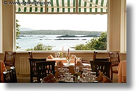 connaught, connemara, dining, dining room, europe, horizontal, ireland, irish, mayo county, rooms, western ireland, zetland house, photograph