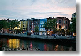 capital, cities, cityscapes, dublin, eastern ireland, europe, eve, evening, horizontal, ireland, irish, leinster, slow exposure, photograph