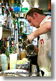 bartender, capital, cities, dalkey, dublin, eastern ireland, europe, ireland, irish, leinster, vertical, photograph