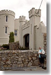capital, castles, cities, dalkey, dublin, eastern ireland, europe, houses, ireland, irish, leinster, vertical, photograph