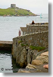 capital, cities, coliemore, dalkey, dublin, eastern ireland, europe, harbor, ireland, irish, leinster, vertical, photograph