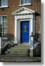 capital, cities, doors, doors & windows, dublin, eastern ireland, edwardian, europe, ireland, irish, leinster, vertical, photograph