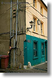 carrick on suir, cork county, europe, ireland, irish, lamps, munster, vertical, wiring, photograph
