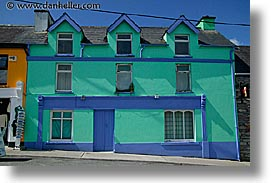 cork, cork county, europe, green, horizontal, houses, ireland, irish, munster, youghal, photograph