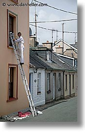 cork, cork county, europe, houses, ireland, irish, munster, painters, vertical, youghal, photograph