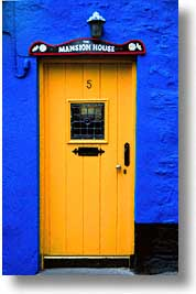 cork, cork county, doors, europe, ireland, irish, kinsale, munster, vertical, photograph