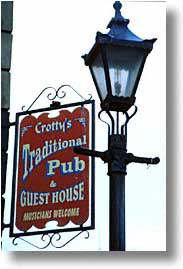 cork county, crottys, dingle, dingle penninsula, europe, ireland, munster, pub, vertical, photograph