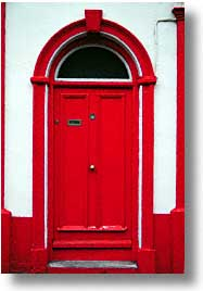 cork county, dingle, dingle penninsula, doors, europe, ireland, munster, vertical, photograph
