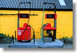 cork county, dingle, dingle penninsula, europe, gas, horizontal, ireland, munster, pumps, photograph