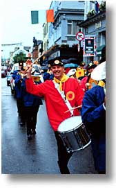 cork county, dingle, dingle penninsula, drummer, europe, ireland, munster, parade, vertical, photograph