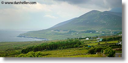 cork county, europe, horizontal, ireland, irish, kells, kerry, kerry penninsula, munster, panoramic, ring of kerry, waterford county, western ireland, photograph