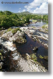cork county, creek, europe, ireland, irish, kerry, kerry penninsula, munster, ring of kerry, slow exposure, vertical, waterford county, western ireland, photograph