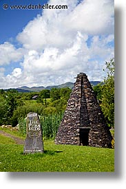 cork county, europe, ireland, irish, kerry, kerry penninsula, munster, pyramids, ring of kerry, vertical, waterford county, western ireland, photograph