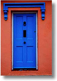 blues, cork county, doors, europe, ireland, irish, loop head, loophead penninsula, munster, vertical, photograph