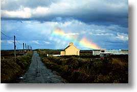 cork county, europe, horizontal, ireland, irish, loop head, loophead penninsula, loopy, munster, rainbow, photograph
