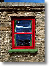 cork county, europe, ireland, irish, loop head, loophead penninsula, munster, painted, vertical, win, photograph